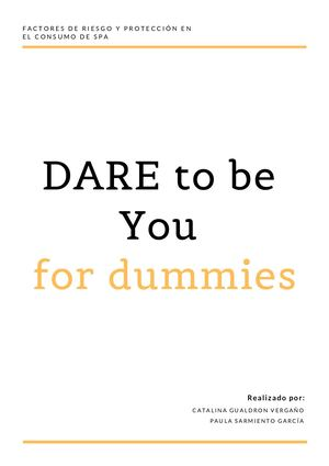 Dare To Be You For Dummies