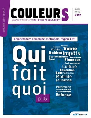 Couleurs 307 (avril 2019)