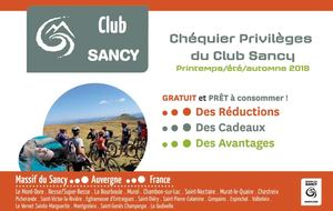 Chequier Club Sancy Été 2019
