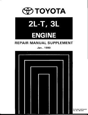 Calameo 2lt 3l Engine Repair Manual Supplement Toyota Manual