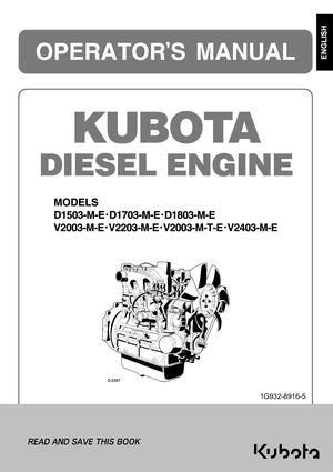 calaméo - kubota engines d1503 me d1803 me v2203 m v2403 me ops manual k b  dd 13 12 2017  calaméo