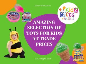 Amazing Selection Of Toys For Kids At Trade Prices - Kidz Gifts Wholesale