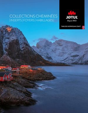 CATALOGUE Cheminees JOTUL 2018 WEB