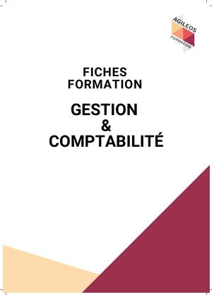 Fiches Formations Gestion Comptabilité_AGILEOS Formation