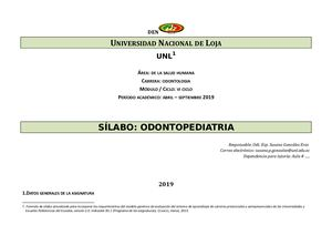 Silabo De Odontopediatría Abril Sept2019