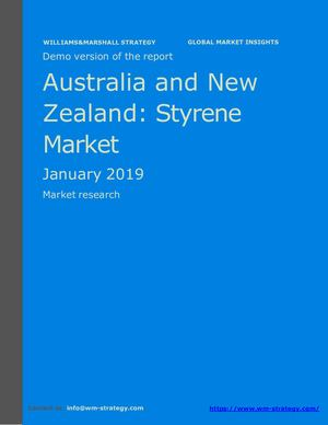 WMStrategy Demo Australia And New Zealand Styrene Market January 2019
