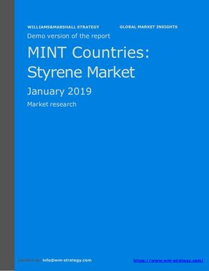 WMStrategy Demo MINT Countries Styrene Market January 2019