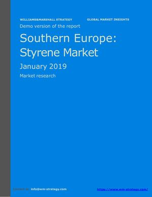 WMStrategy Demo Southern Europe Styrene Market January 2019