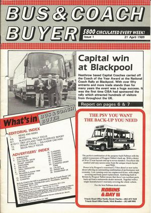 21st April 1989 – Issue 1