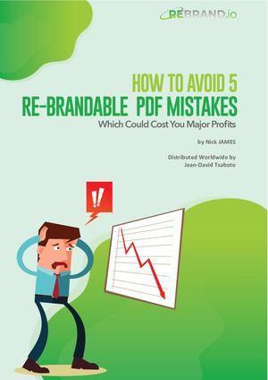 How To Avoid 5 Re Brandable Pdf Mistakes