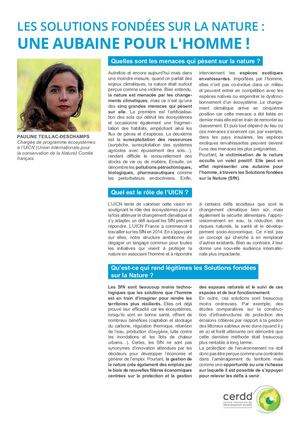 Interview Nature Et Adaptation Vdef
