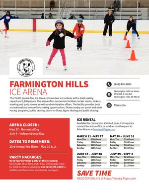 Ice Arena Spring 2019