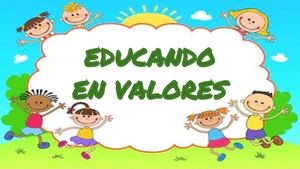 Educando En Valores