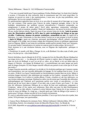 Calaméo A Propos Du Poème Darthur Rimbaud Après Le Déluge