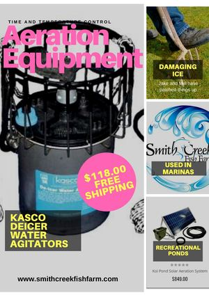 Aeration Equipment Kasco Deicer Water Agitators