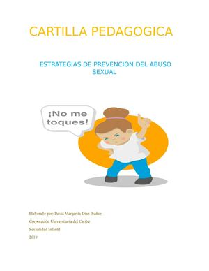 Prevencion Del Abuso Sexual Infantil