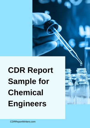 Cdr Sample Chemical Engineers