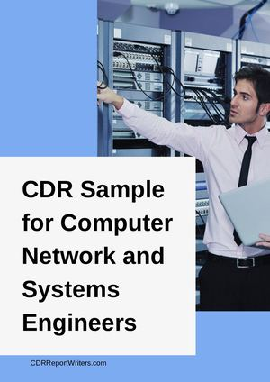 Cdr Sample Computer Network And Systems Engineers
