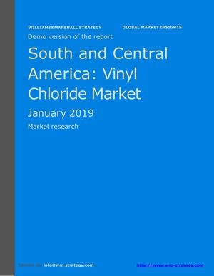 WMStrategy Demo South And Central America Vinyl Chloride Market January 2019
