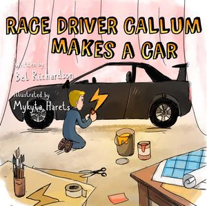 Race Driver Callum Makes A Car