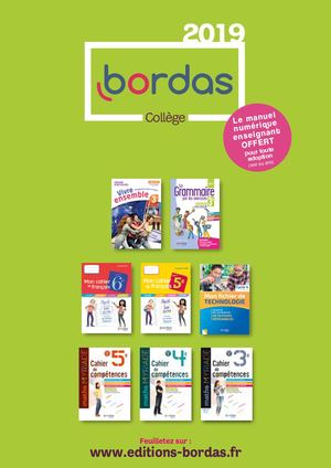Catalogue College 2019