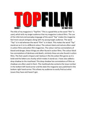 Synopsis Of Top Film