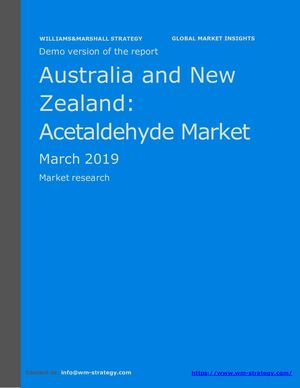 WMStrategy Demo Australia And New Zealand Acetaldehyde Market March 2019