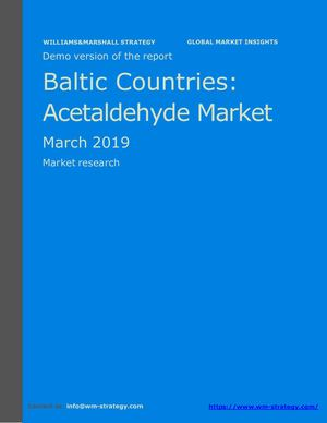 WMStrategy Demo Baltic Countries Acetaldehyde Market March 2019