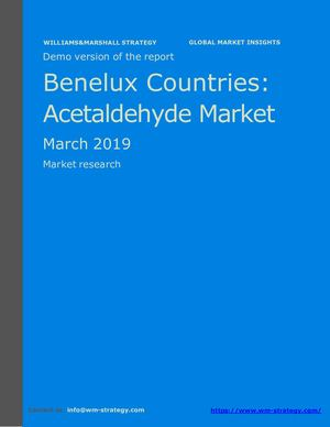 WMStrategy Demo Benelux Countries Acetaldehyde Market March 2019