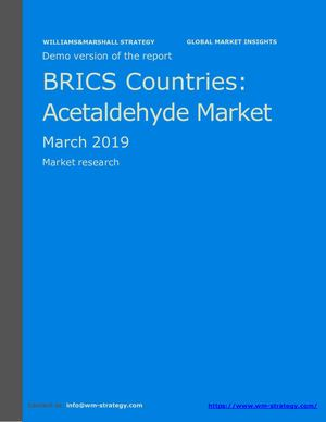 WMStrategy Demo BRICS Countries Acetaldehyde Market March 2019