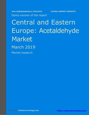 WMStrategy Demo Central And Eastern Europe Acetaldehyde Market March 2019