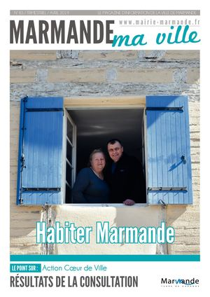 "Magazine ""Marmande ma ville"" - Avril 2019"