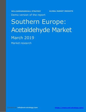 WMStrategy Demo Southern Europe Acetaldehyde Market March 2019