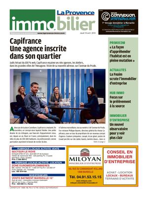 Immobilier by la provence avril 2019