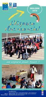 maquette arc en ciel mai-juin 2019_Mise en page 1 17/04/2019 11:29 Page2 MAI-JUIN 2019 un espace pour tous ! Imprimé à 7 500 exemplaires par Imprilith Renseignements : Espace du Noyer-Perrot : rue de la Mare-l'Evêque - Tél. 01 60 60 55 52 Ville de Espace de Lugny : 427, rue des Pièces de Lugny - Tél. 01 64 88 88 45 Moissy-Cramayel http://espacearcenciel.centres-sociaux.fr/