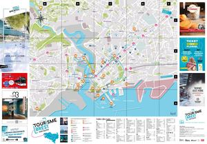 Brest City Map