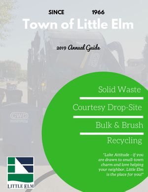 2019 Little Elm Trash And Recycling Guide