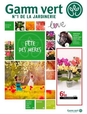 Calaméo - Catalogue Gamm Vert - Fête des mères 2019