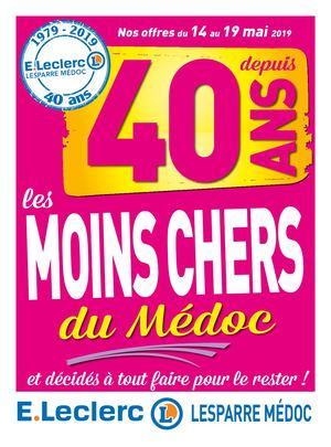 Calaméo Eleclerc Lesparre Médoc Catalogue 40 Ans