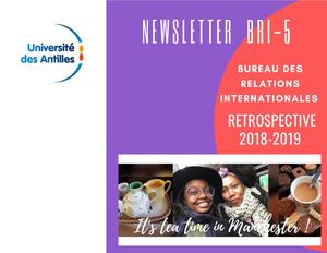 Newsletter N°5 Avril 2019 BRI UA