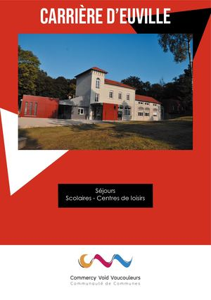 Carriere Euville Brochure Scolaire