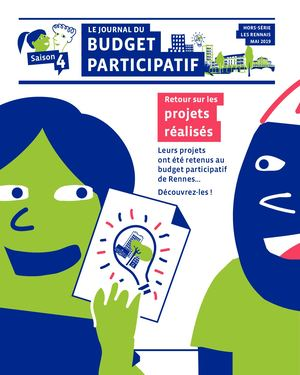 Le journal du Budget participatif - Saison 4