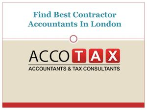 Find Best Contractor Accountants In London