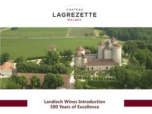 Chateau Lagrezette Introduction Vincorp