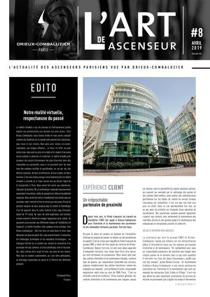 L'ART DE L'ASCENSEUR N°8