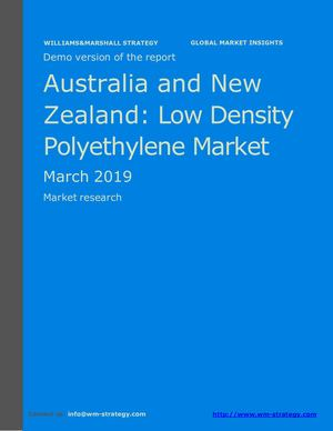 WMStrategy Demo Australia And New Zealand Low Density Polyethylene Market March 2019
