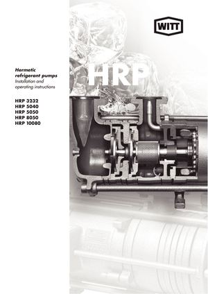 HRP refrigerant pump manual en