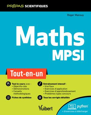Maths MPSI