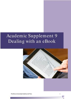 Academic Supplement 9