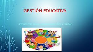 Cartilla De Gestion